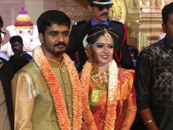 Megha weds Ajaykrishnan