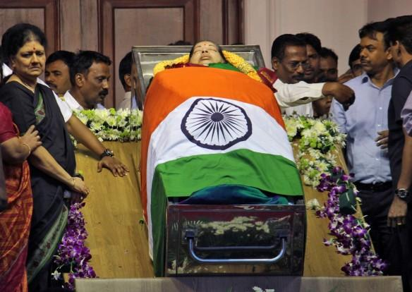 jayalalithaa funeral