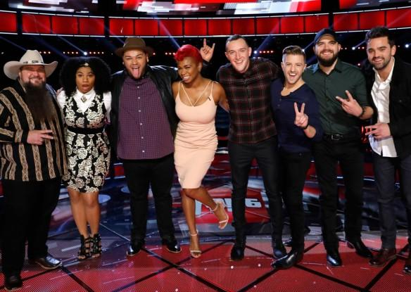 """The Voice"" Season 11 (USA) 2016 semi-finalists"