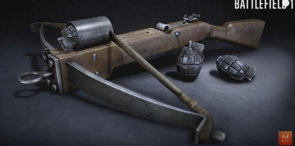 Battlefield 1: Is there a new Crossbow Grenade Launcher in the offing?