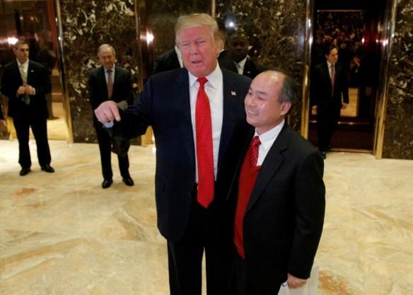 Donald Trump Softbank