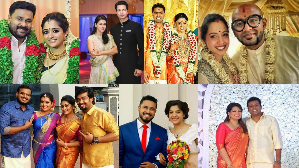 Celebrity Weddings 2016 Mollywood Celebs Who Got Married This Year