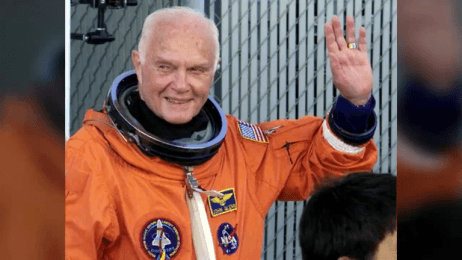 John Glenn: First American astronaut to orbit Earth dies at 95