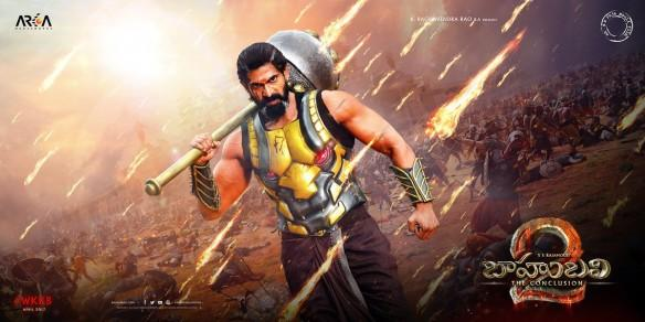 Rana Daggubati's new posters from Baahubali (Bahubali) 2 released