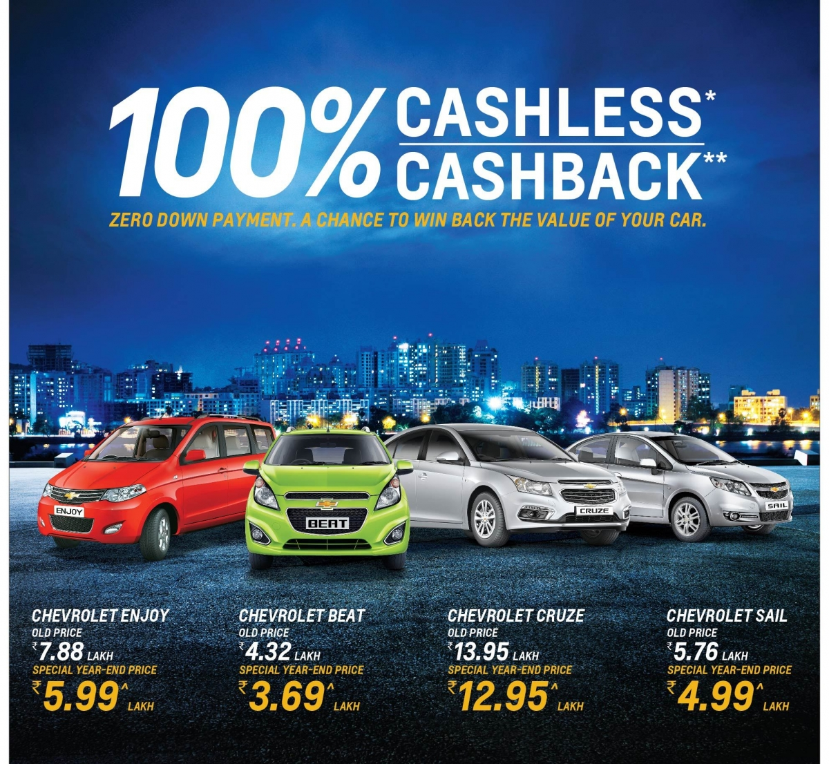 Chevrolet Year-end Offers 2016: Here Is Your Chance To