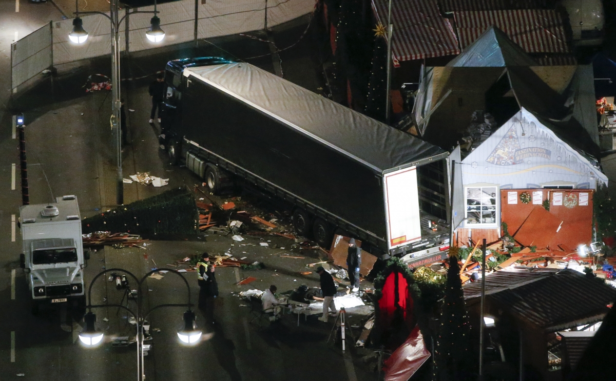 Germany Truck Attack Berlin Christmas Market Attack Was