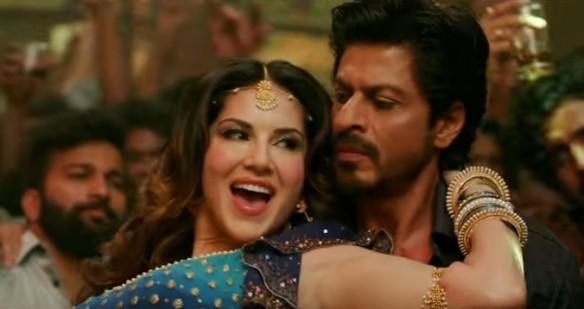 Sunny Leone and Shah Rukh Khan in Laila Main Laila song from Raees
