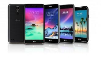 CES 2017,LG, LG CES 2017, LG K10, Stylus 3, LG K8, LG K4, LG K3