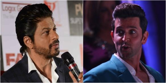 Shah Rukh Khan's Raees and Hrithik Roshan's Kaabil clash