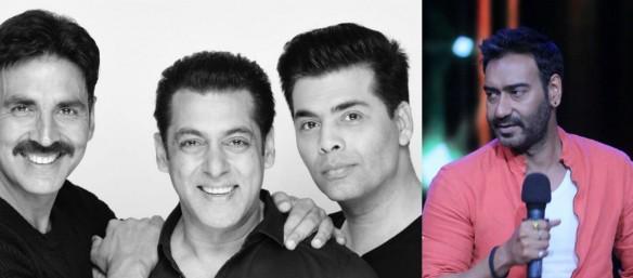 Akshay Kumar, Salman Khan, Karan Johar, Ajay Devgn