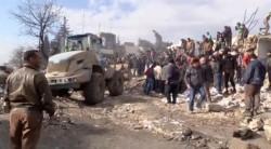 bomb blast, Syria, Azaz, border, kill, Islamic State