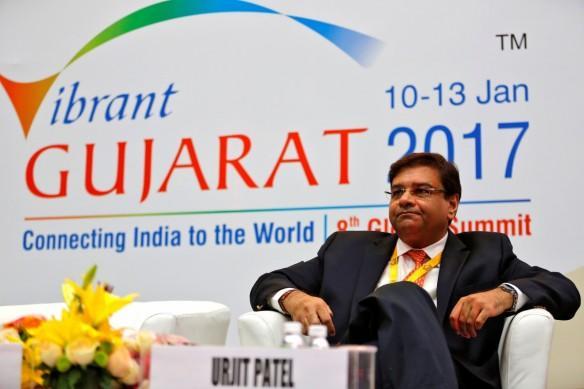 urjit patel, rbi governor, vibrant gujarat 2017, pm modi, budget 2017, fm arun jaitley