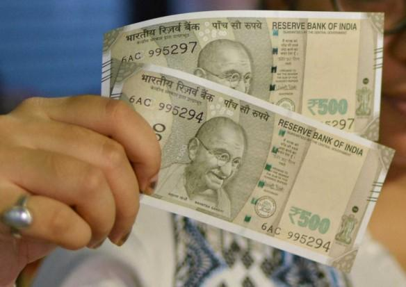 Rs 500 notes
