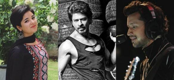 Zaira Wasim, Dangal, Shah Rukh Khan, Atif Aslam