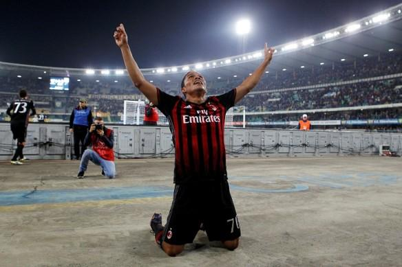 Carlos Bacca, AC Milan, Torino, Serie A, forward,