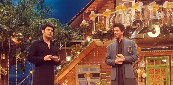 Shah Rukh Khan, Raees, The Kapil Sharma Show