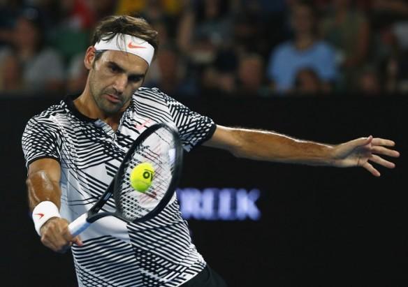 Roger Federer, Australian Open, second round, Noah Rubin, Jurgen Melzer