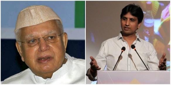 ND Tiwari and Kumar Vishwas