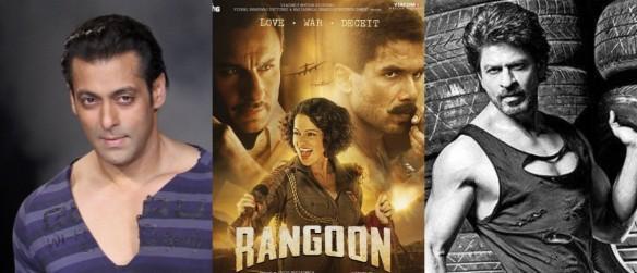 Salman Khan, rangoon, Shah Rukh Khan