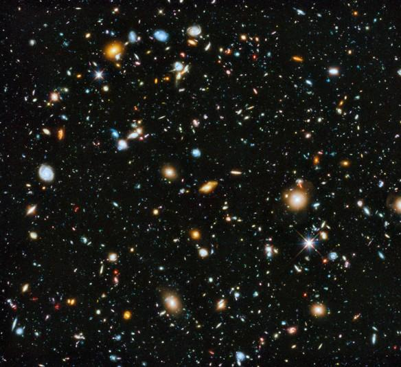 NASA Hubble, evolving universe