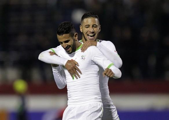 Riyad Mahrez, Afcon 2017, AFrica Cup of nations, Algeria,