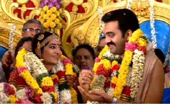 Ashwin Kkumar weds Sushmita