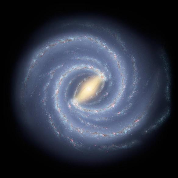 NASA, Milky Way galaxy,