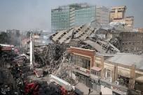 Iran building collapse
