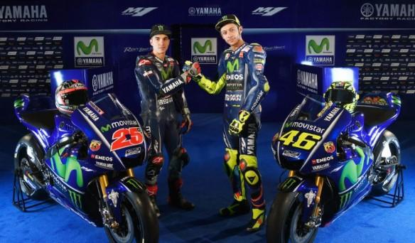 2017 Movistar Yamaha team presentation