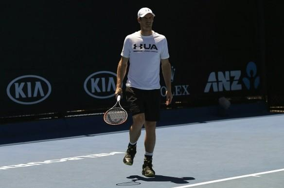 Andy Murray, ankle injury, Australian Open 2017, third round, Sam Querrey