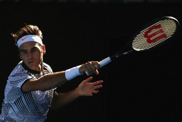 Roger Federer, Australian Open, third round, Tomas Berdych, Grand Slam