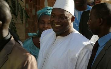 Gambias new president Adama Barrow sworn in despite standoff with predecessor Yahya Jammeh