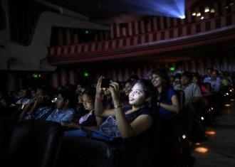 ufo moviez, ufo moviez q3 results, ufo moviez share price, multiplex chains in India, hindi films, digital cinema distribution, in-cinema ad platform