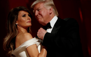 Watch President Trump and First Lady Melania on their first dance at Inaugural ball