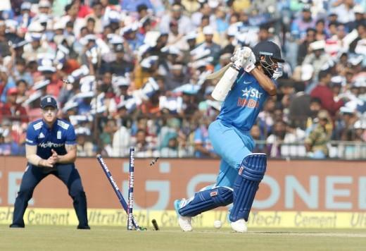 Shikhar Dhawan, Virat Kohli, India, England, third one-dayer