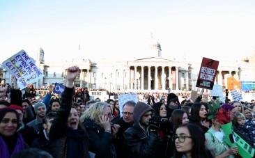 The political gets personal at Womens March on London