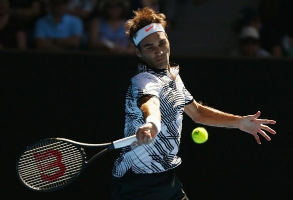 Roger Federer, Australian Open, Aus Open 2017, Federer vs Nishikori, fourth round