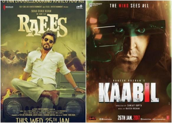 Raees, Kaabil, Shah Rukh Khan, Hrithik Roshan, YouTube
