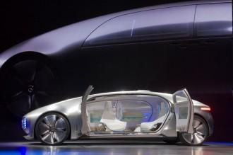 Mercedes-Benz F015 Luxury in Motion, apple icar, apple car