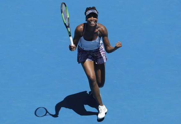 Venus Williams, Australian Open 2017, Anastasia Pavlyuchenkova, women's singles, quarterfinals