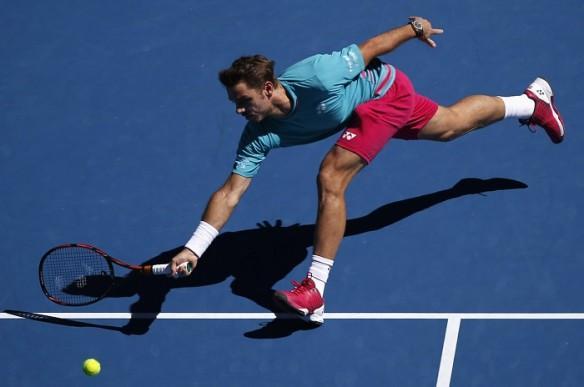 Stan Wawrinka, Australian Open, 2017 men's singles, quarterfinals, Jo-Wilfried Tsonga