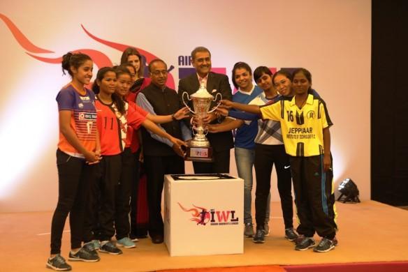 india women's football team, indian women's league