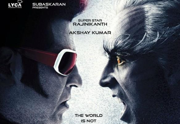 Rajinikanth, Akshay Kumar, 2.0, Enthiran 2