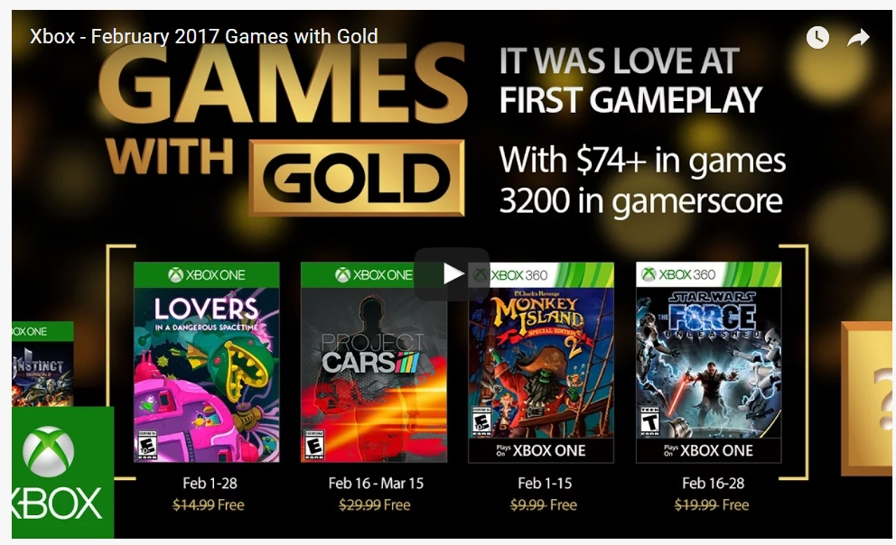 how to get free xbox live may 2017