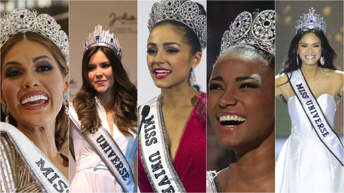 Miss Universe top 5 winners: Miss Philippines Pia ...