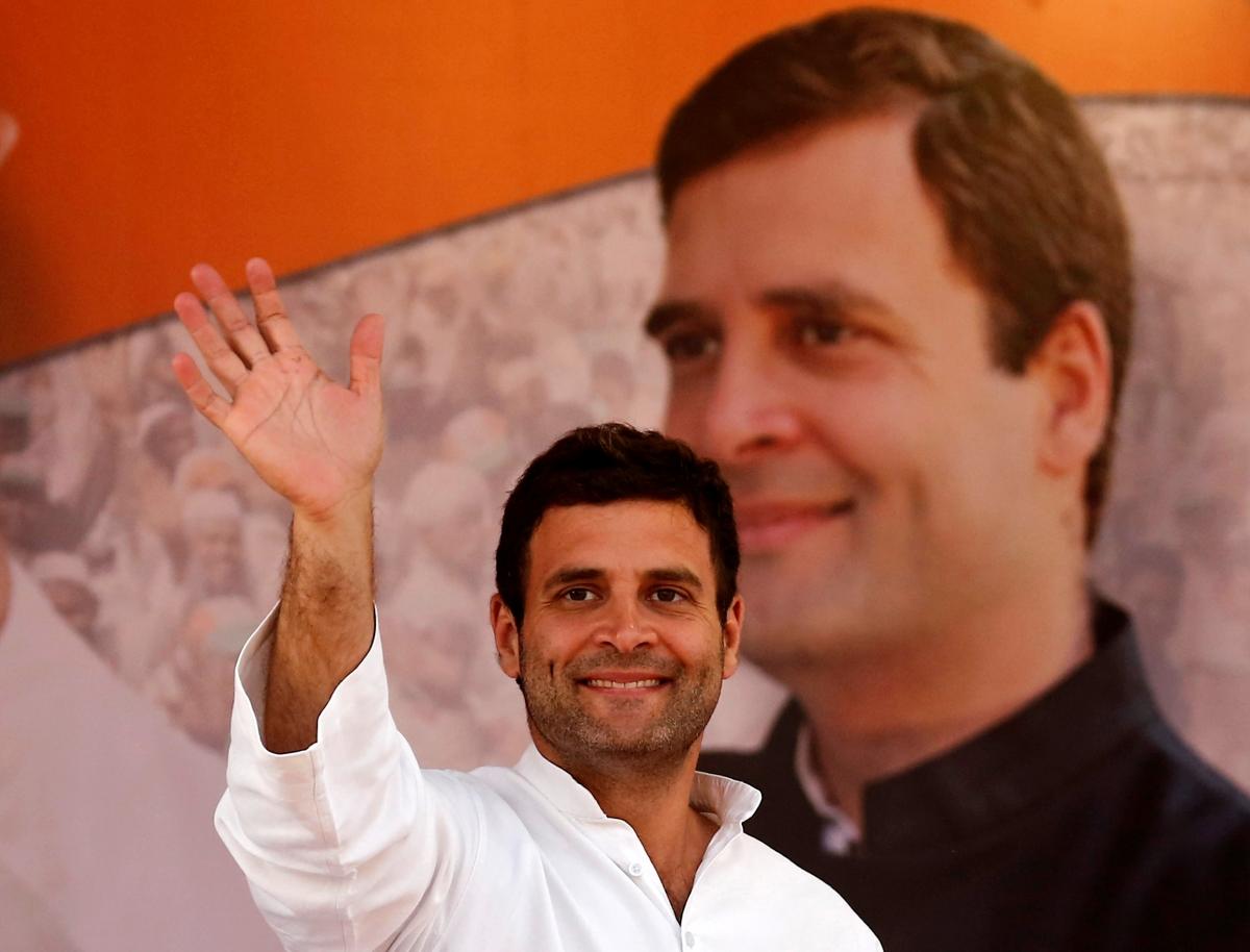 my favourite leader is rahul gandhi