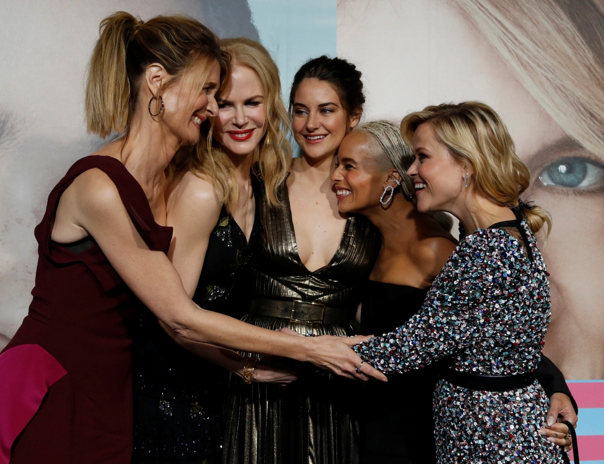 The Big Little Lies Cast Could Not Stop Gushing Over Each Other at the Emmys