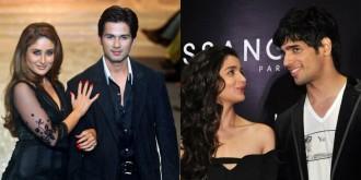 Shahid Kapoor, Kareena Kapoor Khan, Alia Bhatt, Sidharth Malhotra