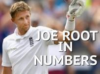New England captain Joe Root in numbers