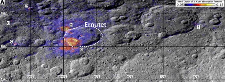 Risultati immagini per NASA probe finds life's dwarf planet Ceres